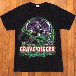 💀 Gravedigger Monster Truck T-shirt